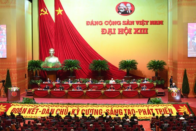 Bế mạc Đại hội Đảng toàn quốc lần thứ XIII ảnh 1