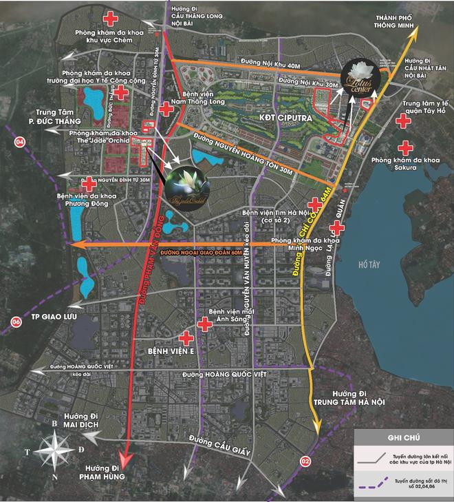 The Jade Orchid và The Lotus Center - tâm điểm của làn sóng phát triển hạ tầng phía Tây Bắc Hà Nội ảnh 4