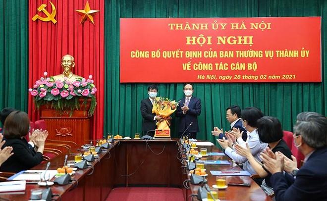 Ông Nguyễn Doãn Hoàn làm Bí thư Phúc Thọ, ông Lê Minh Đức giữ chức Bí thư Đảng ủy Khối cơ quan Hà Nội ảnh 2