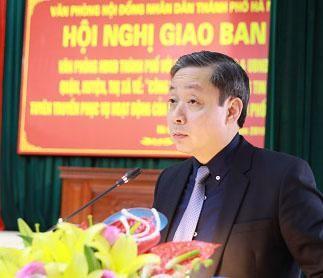 Ông Trần Hợp Dũng phụ trách Văn phòng Đoàn ĐBQH, HĐND TP Hà Nội ảnh 1