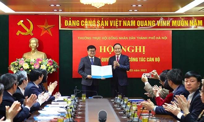 Ông Trương Việt Dũng làm Chánh Văn phòng Đoàn ĐBQH và HĐND TP Hà Nội ảnh 1