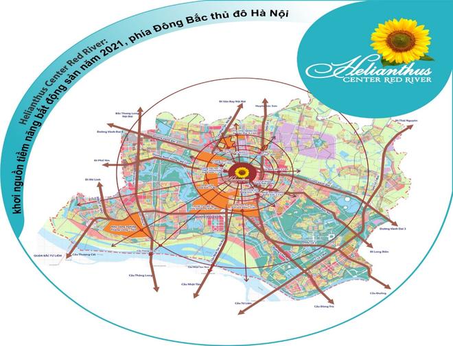 Helianthus Center Red River: Khơi nguồn tiềm năng bất động sản năm 2021 phía Đông Bắc Thủ đô Hà Nội ảnh 1