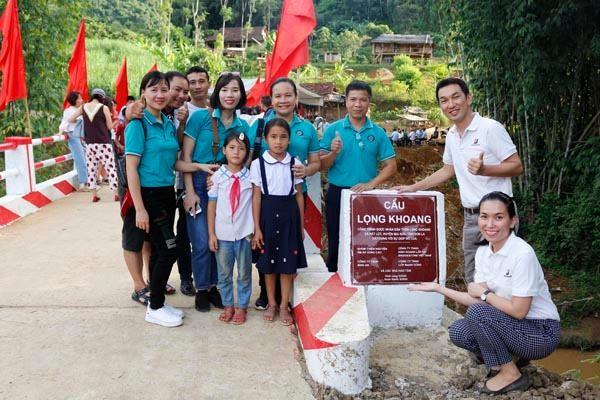 """""""Chiếc cầu nối nhịp tri thức"""" của Bridgestone Việt Nam nhận giải thưởng CSR Gold Award ảnh 1"""