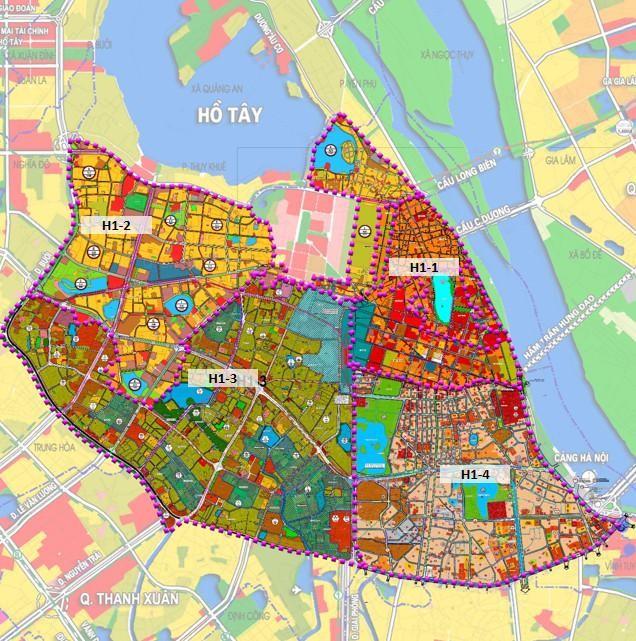 Hà Nội công bố quy hoạch 4 quận trung tâm ảnh 2