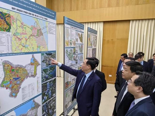 Hà Nội công bố quy hoạch 4 quận trung tâm ảnh 1