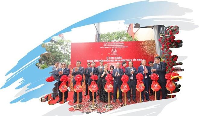 Chính thức khai trương trung tâm phân phối dược phẩm Vimedimex tại Bắc Ninh ảnh 2