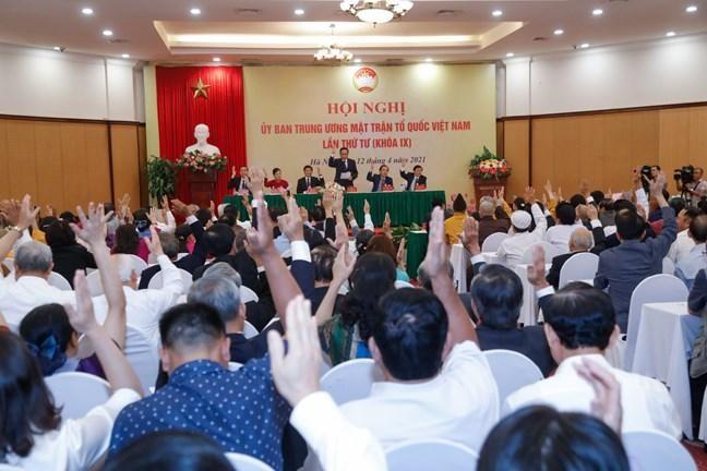 Ông Đỗ Văn Chiến giữ chức Chủ tịch Ủy ban Trung ương MTTQ Việt Nam ảnh 2