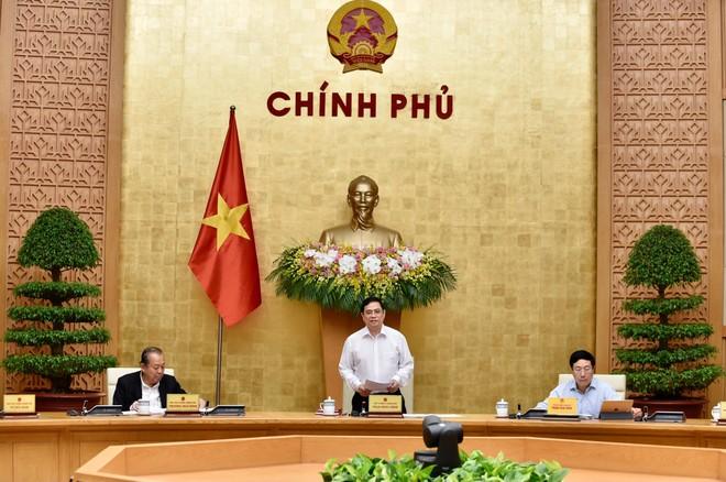 Thủ tướng Phạm Minh Chính chủ trì phiên họp Chính phủ đầu tiên ảnh 1