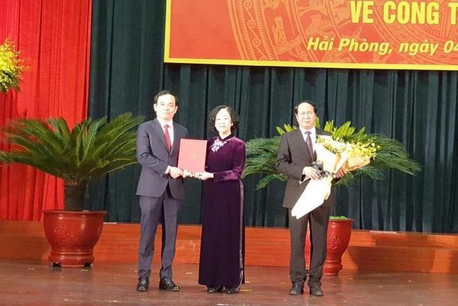 Ông Trần Lưu Quang làm Bí thư Thành ủy Hải Phòng ảnh 1