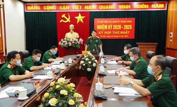 Đại tướng Lương Cường làm Chủ nhiệm Ủy ban Kiểm tra Quân ủy Trung ương ảnh 1