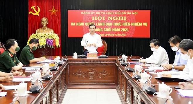 Đồng chí Đinh Tiến Dũng làm Bí thư Đảng ủy Bộ Tư lệnh Thủ đô ảnh 1