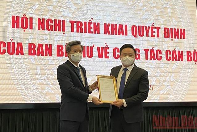 Chủ tịch VietinBank Lê Đức Thọ làm Bí thư Bến Tre, Báo Nhân Dân có Phó Tổng Biên tập mới ảnh 2