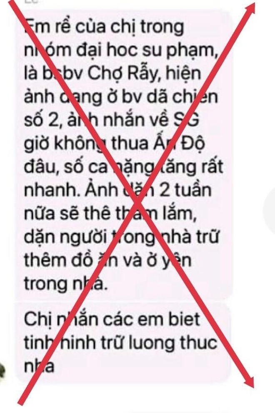 """TP.HCM bác bỏ tin đồn """"giới nghiêm"""" gây hoang mang dư luận ảnh 3"""