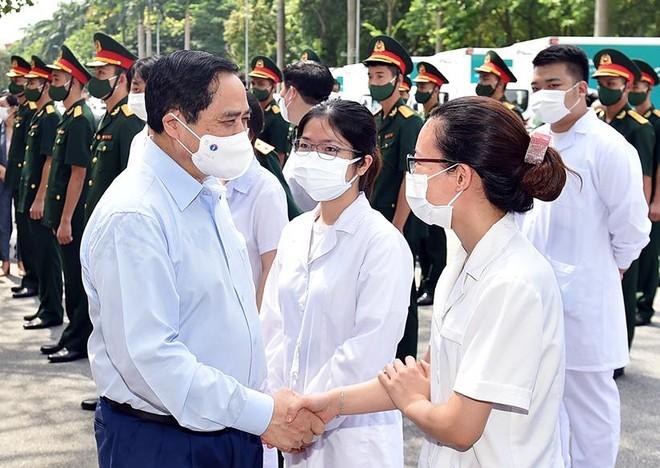 Thủ tướng Phạm Minh Chính gửi thư động viên các lực lượng tuyến đầu phòng, chống dịch COVID-19 ảnh 1