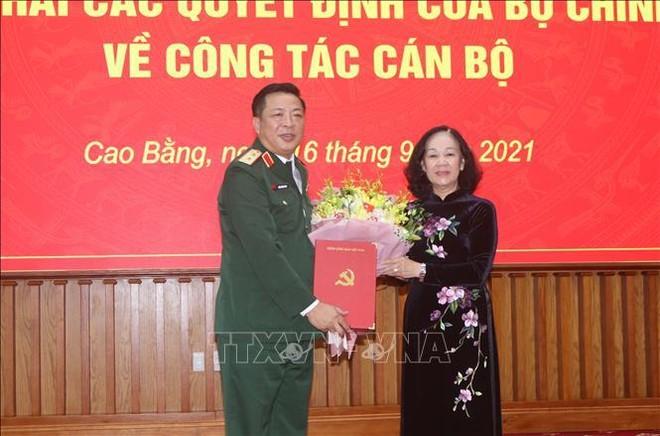 Trung tướng Trần Hồng Minh giữ chức Bí thư Tỉnh ủy Cao Bằng ảnh 1