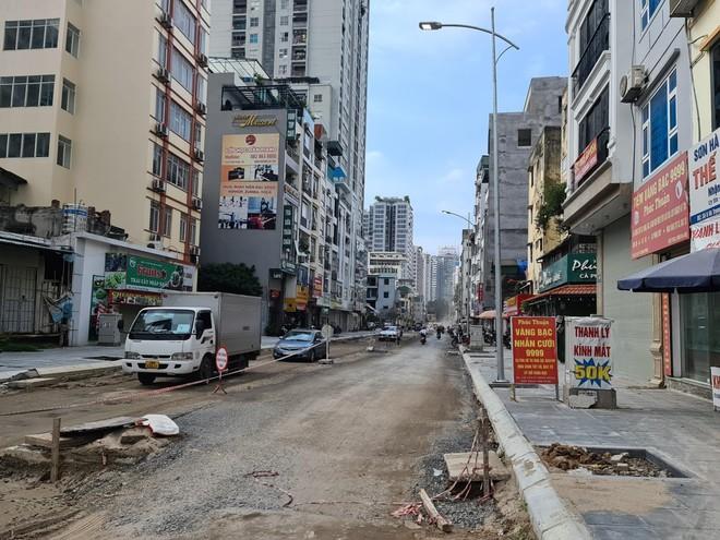 Dự án mở rộng đường Vũ Trọng Phụng sẽ về đích vào giữa tháng 11/2021 ảnh 2
