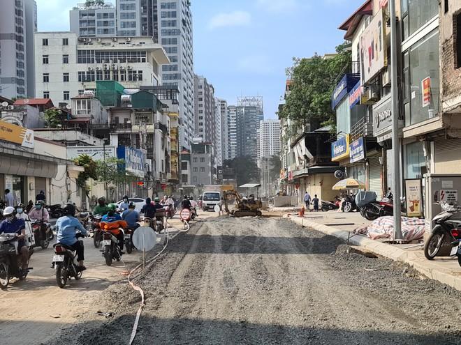 Dự án mở rộng đường Vũ Trọng Phụng sẽ về đích vào giữa tháng 11/2021 ảnh 1