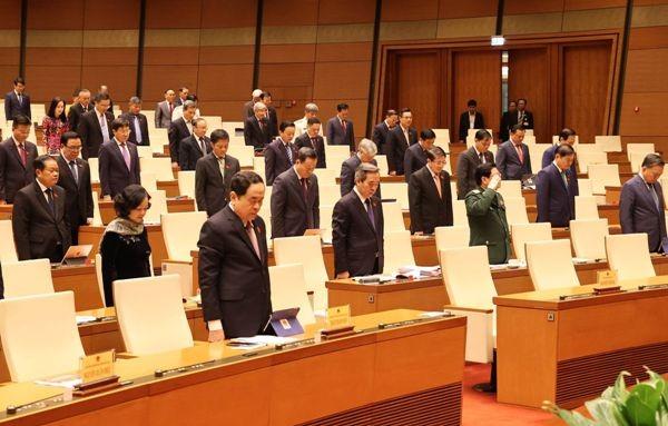 Quốc hội chia sẻ với sự hy sinh mất mát của cán bộ chiến sỹ và nhân dân ảnh 1