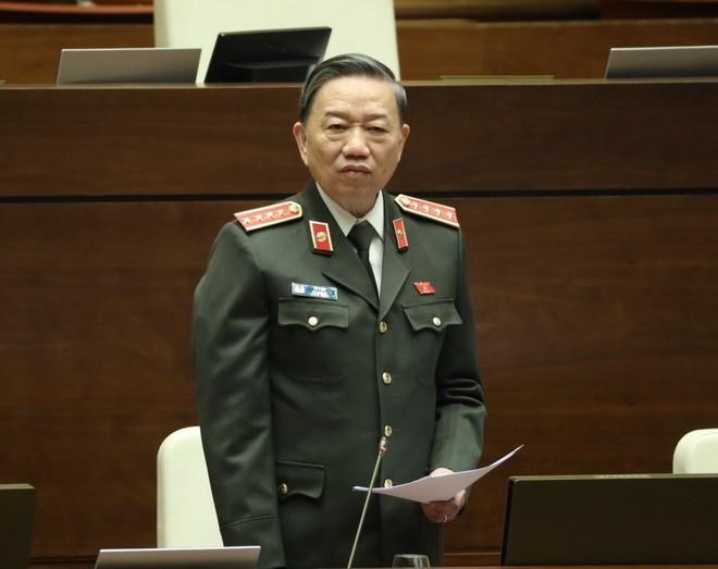Bộ trưởng Tô Lâm: Luật lực lượng tham gia bảo vệ an ninh trật tự ở cơ sở không làm công an lười đi ảnh 1
