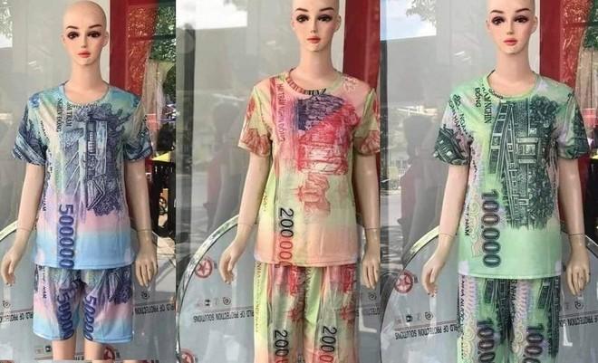 Bán quần áo in hình tiền Việt Nam sẽ bị phạt tới 100 triệu đồng ảnh 1
