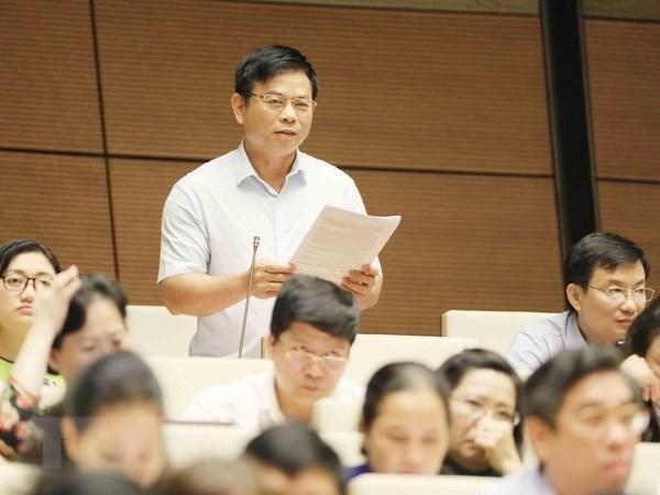 Đại biểu Quốc hội tranh luận về các báo cáo của cơ quan tư pháp ảnh 1
