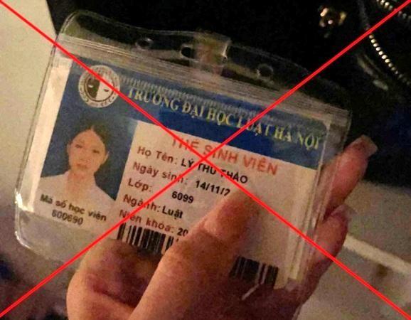 Luật sư nói gì về vụ mạo danh hoa khôi Đại học Luật Hà Nội? ảnh 1