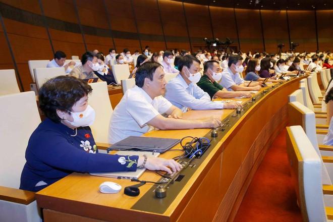 Thông qua cơ cấu tổ chức của Chính phủ nhiệm kỳ 2021-2026 ảnh 1
