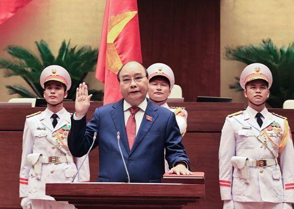 Đồng chí Nguyễn Xuân Phúc tái đắc cử Chủ tịch nước ảnh 1