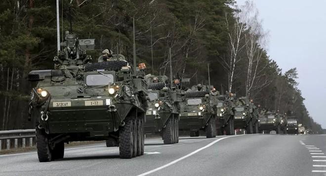 Nga nói, Mỹ- Estonia tập trận là hành động khiêu khích nguy hiểm ảnh 1