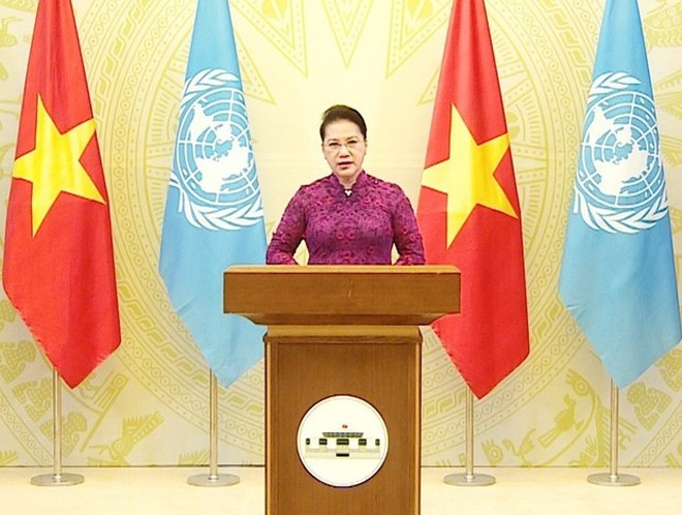 Thông điệp của Chủ tịch Quốc hội tại phiên họp Liên hợp quốc về phụ nữ ảnh 1