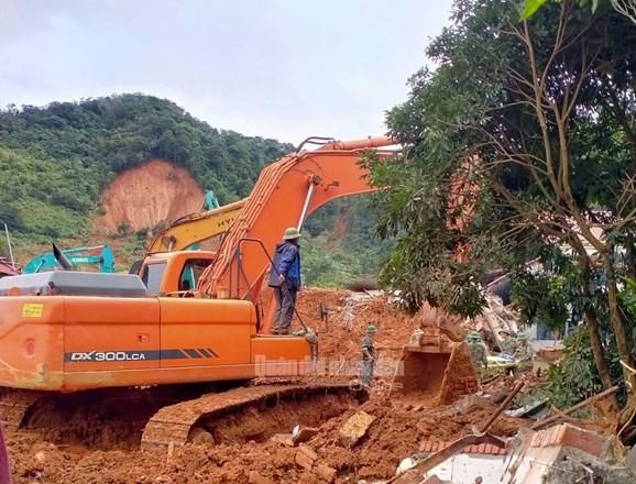 Vụ sạt lở tại Quảng Trị: 5 người được cứu sống, đã tìm thấy 14/22 thi thể bị vùi lấp ảnh 2