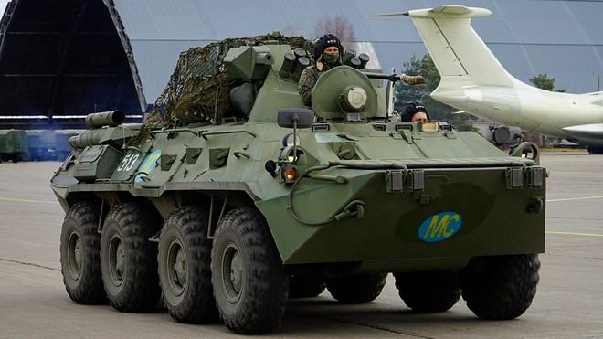 Quân đội Nga thành lập trung tâm phản ứng nhân đạo ở Nagorno-Karabakh ảnh 1