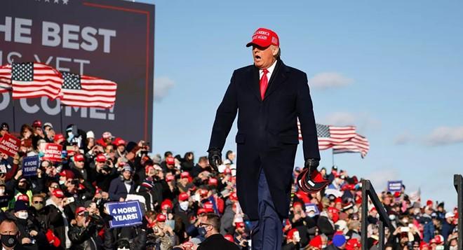"""Tổng thống Mỹ Donald Trump: """"Hẹn gặp lại sau 4 năm nữa"""" ảnh 1"""