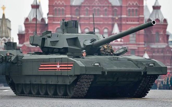 """""""Xe tăng tốt nhất thế giới"""" T-14 Armata bắt đầu giao hàng vào năm 2021 ảnh 1"""