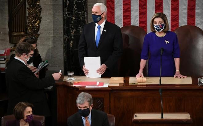 Quốc hội Mỹ xác nhận ông Joe Biden thắng cử ảnh 1