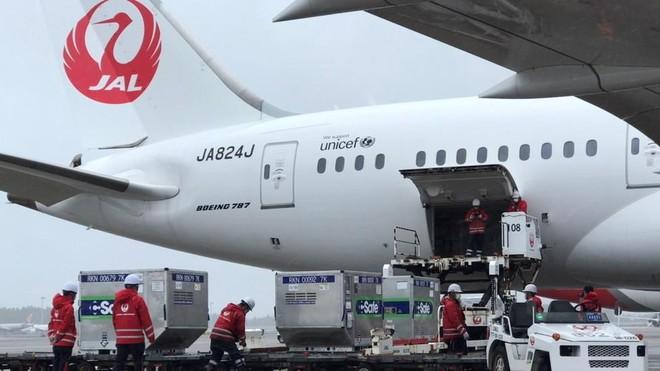 Nhật Bản chuyển hơn 1 triệu liều vaccine ngừa Covid-19 tặng Đài Loan ảnh 1