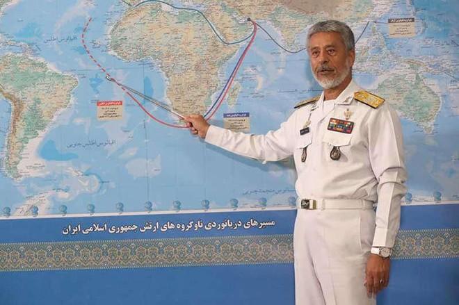 Mỹ theo dõi sát 2 tàu chiến Iran lần đầu được điều đến Đại Tây Dương ảnh 1