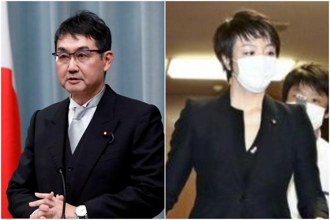 Cựu Bộ trưởng Tư pháp Nhật Bản vào tù vì 'mua phiếu bầu' cho vợ ảnh 1