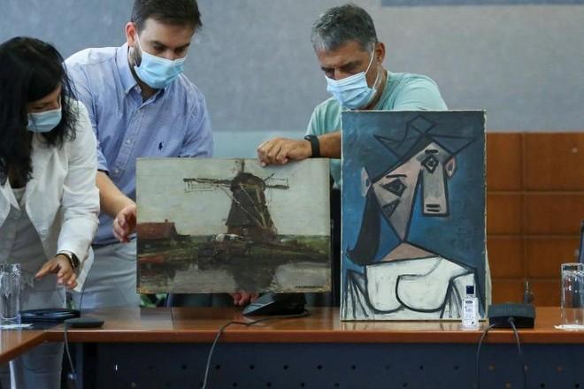 """Sự """"trở về"""" kỳ lạ của bức tranh mà danh họa Picasso tặng cho Hy Lạp ảnh 1"""