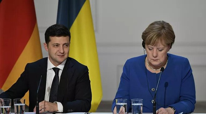 Ukraine nói Thủ tướng Đức nghiêng về phía Nga ảnh 1
