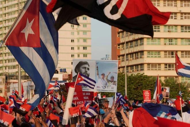 Chính phủ Cuba tổ chức tuần hành lớn ở Havana ảnh 1