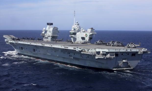 Bắc Kinh cảnh báo 'hành động khiêu khích' của tàu sân bay Anh khi đi qua Biển Đông ảnh 1