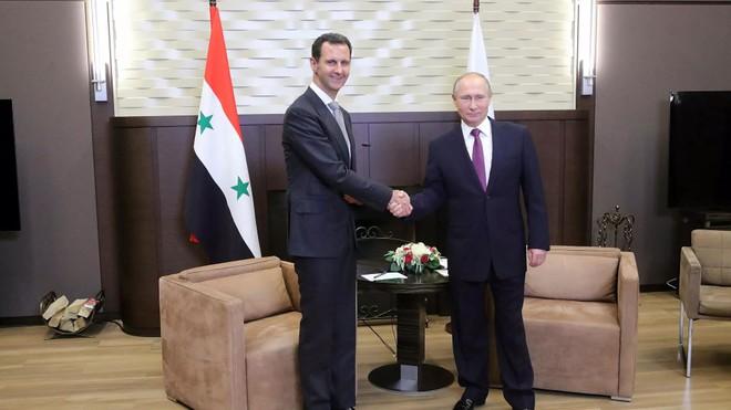 Tổng thống Nga và Syria bàn cách giải phóng nốt phần lãnh thổ nằm trong tay khủng bố ảnh 1