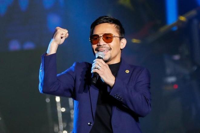 Võ sĩ quyền Anh Manny Pacquiao tranh cử Tổng thống Philippine năm 2022 ảnh 1