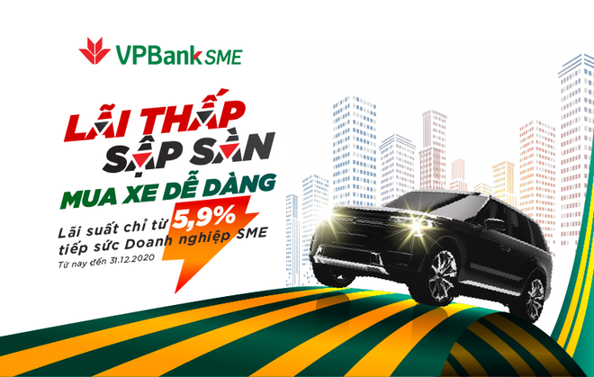 """Sở hữu ô tô """"siêu tốc"""" với gói vay cực hấp dẫn từ VPBank ảnh 1"""