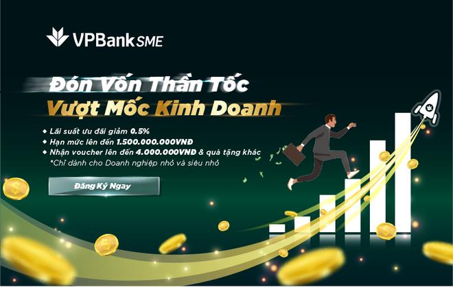 VPBank giảm lãi suất, mạnh tay tiếp vốn cho doanh nghiệp nhỏ dịp cuối năm ảnh 1