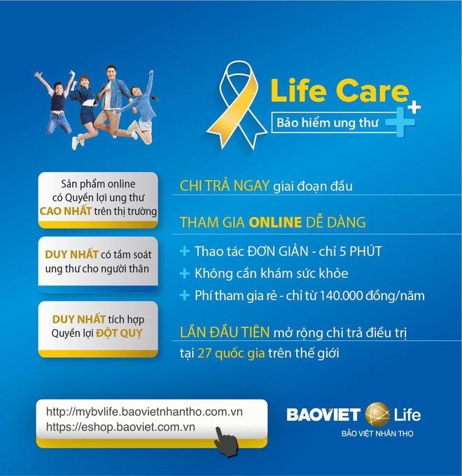 Ra mắt LIFE CARE - Bảo hiểm bệnh ung thư và đột quỵ có mức chi trả cao nhất thị trường ảnh 1