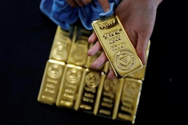 Giá vàng tiếp tục tăng mạnh, lên mức cao nhất 2 tuần ảnh 1