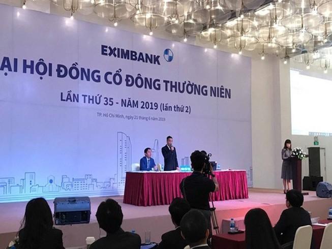 """Trước thềm Đại hội cổ đông, nhân sự cấp cao Eximbank vẫn """"rối như canh hẹ"""" ảnh 1"""