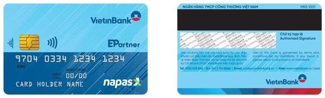 Miễn phí chuyển đổi thẻ chip Vietinbank Napas, hoàn 20% khi thanh toán ảnh 1
